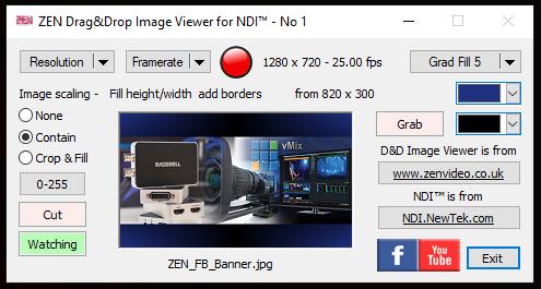 ZEN NDI Drag & Drop Image Viewer